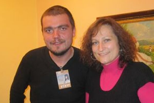 Hlavný producent projektu Radosť byť s vami s projektovou manažérkou Vierou Strýčkovou.