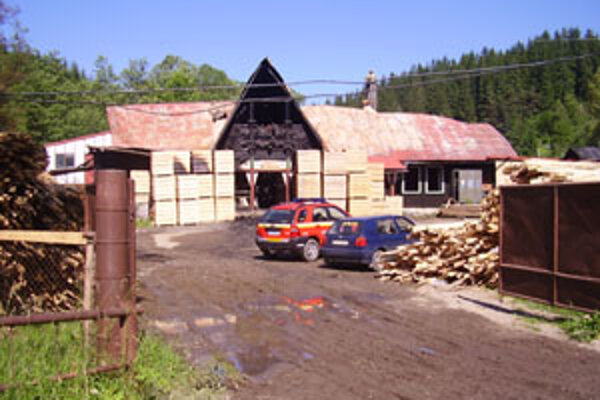 Halu na drevovýrobu zničil požiar.