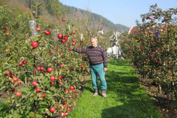 Štefan Kubjatko, záhradkár telom i dušou.