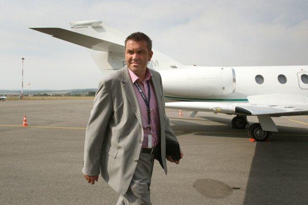 Riaditeľ letiska Marián Bubelíny.