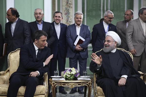 Taliansko sa po zrušení sankcií zbližuje s Iránom.