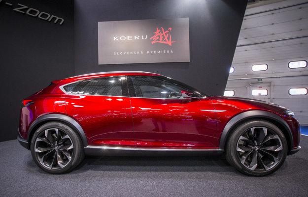 Medzi dizajnovo zaujímavé autá sa určite zaradí koncept Mazda Koeru. Výrobca si pri prvom predstavení tejto štúdie overoval reakcie verejnosti na vzhľad tohto crossoveru. Je pravdepodobné, že podobne ladený dizajn uvidíme aj na budúcich sériových autách japonského výrobcu.