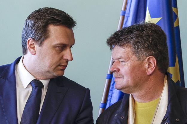 Andrej Danko a Pavel Ondek.