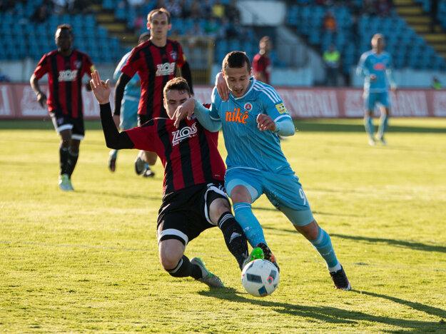 Adam Zreľák (vpravo) podal ďalší výborný výkon.