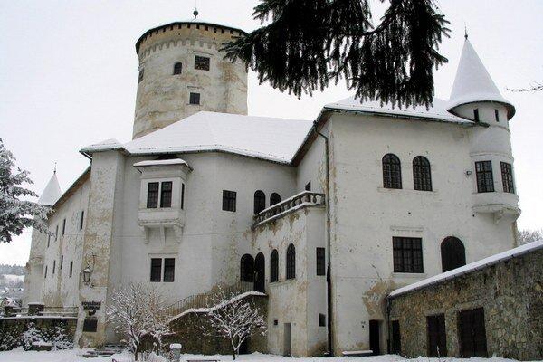 Budatínsky hrad.