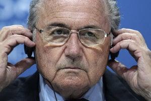 Bývalý prezident Medzinárodnej futbalovej federácie (FIFA) Sepp Blatter.