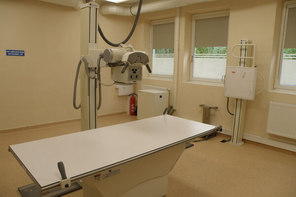 Zmodernizované radiodiagnostické oddelenie otvorili v bojnickej nemocnici v minulom roku.