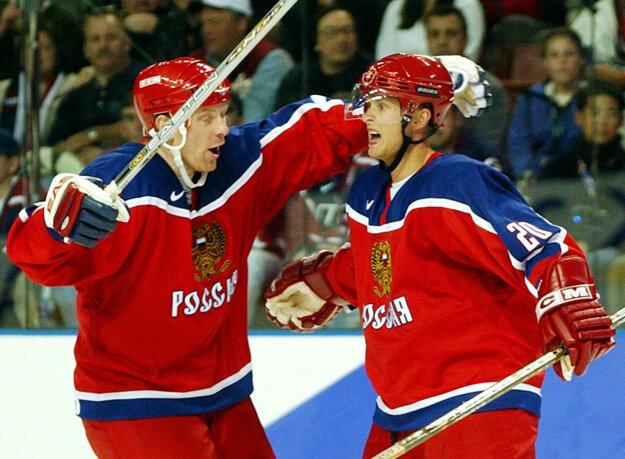 Žamnov (vľavo) je tiež bývalým výborným hráčom.