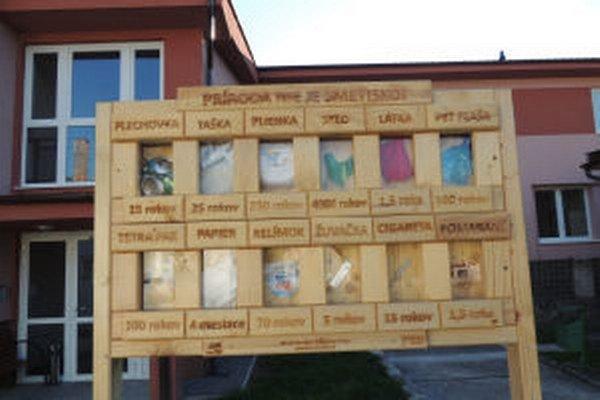 Takéto vitríny majú v Župkove aj v Hrabičove.
