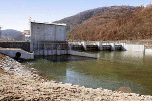 Malá vodná elektráreň v Hronskej Dúbrave.