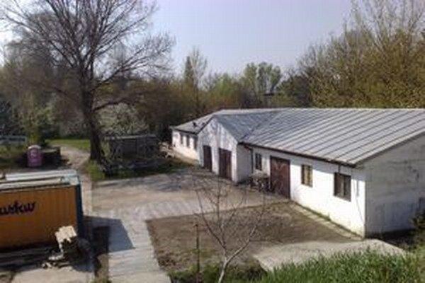 Terajšia lodenica Karloveského športového klubu.
