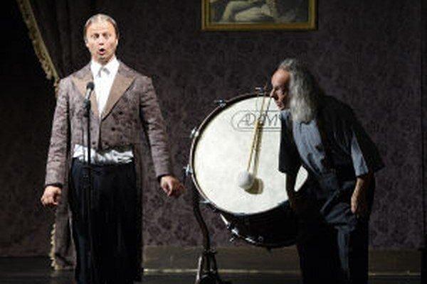 Na snímke dvojica nemeckých komikov Gogol & Mäx s projektom Humor In Concert, za ktorý získala Grand Prix.