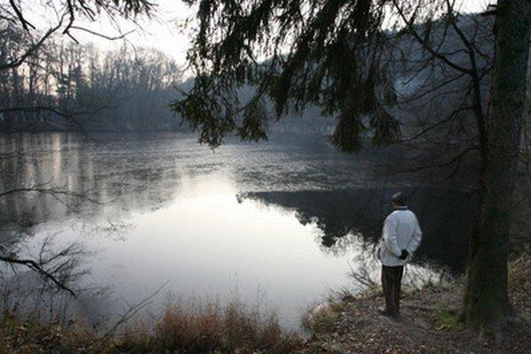 Jazero na Železnej studienke.