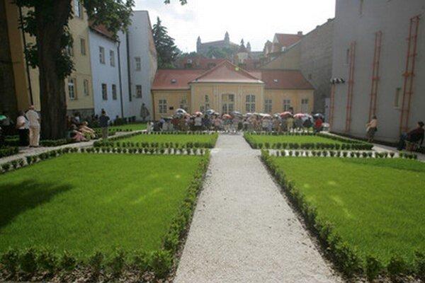 Lisztova záhrada.