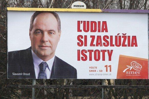 Konkurentom starostu Ružinova Dušana Pekára (KDH) je aj jeho predchodca Slavomír Drozd (Smer).