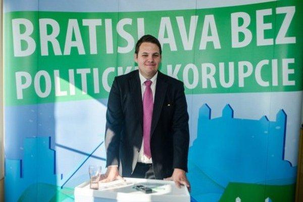Miroslav Dragun, kandidát na primátora Bratislavy.