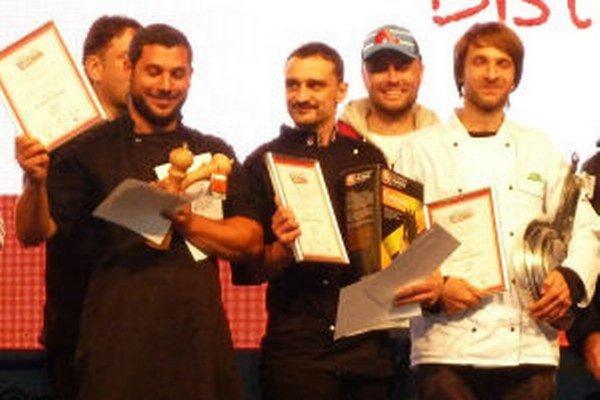 Matej Homola (v strede) uspel v silnej konkurencii.