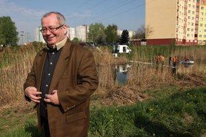 Staronový starosta Petržalky Vladimír Bajan.
