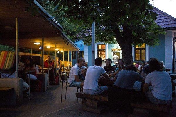 Podvečerná atmosféra vo Funuse v Horskom parku.