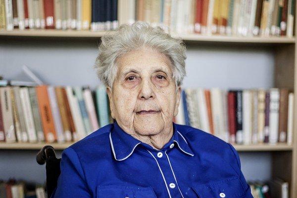 Pani Margita Horáková prežila Osvienčim, Augsburg aj Dachau.