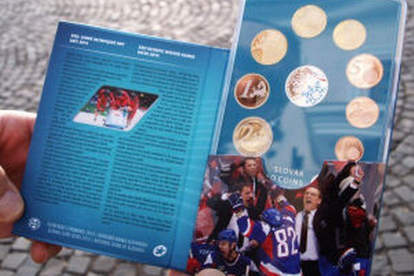 Špeciálna olympijská sada euromincí.