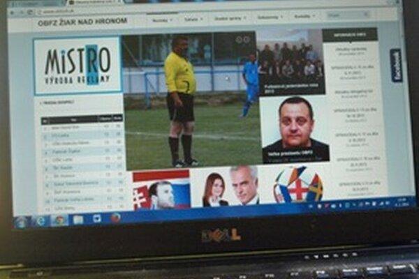 Nový web ObFZ Žiar nad Hronom.