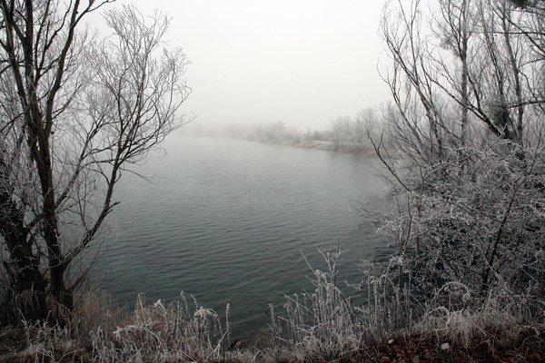 Jazero v Čunove.
