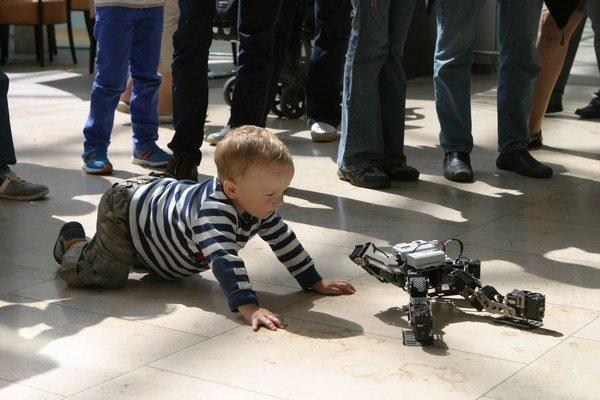 Roboty zaplnia Mlynskú dolinu.