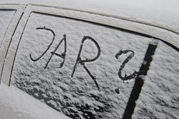 Túto zimu v meste veľa nenasnežilo.