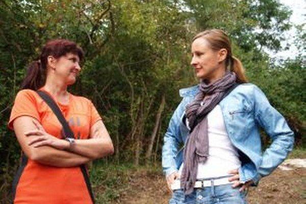 Autorky knižky Zostali iba spomienky - Zuzana Kohútová a Zuzana Denková.