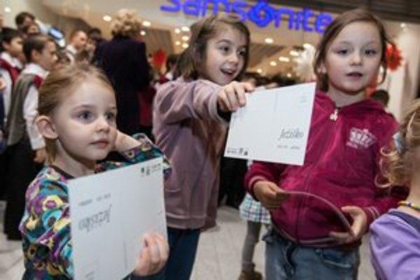 Deti písali Ježiškovi.