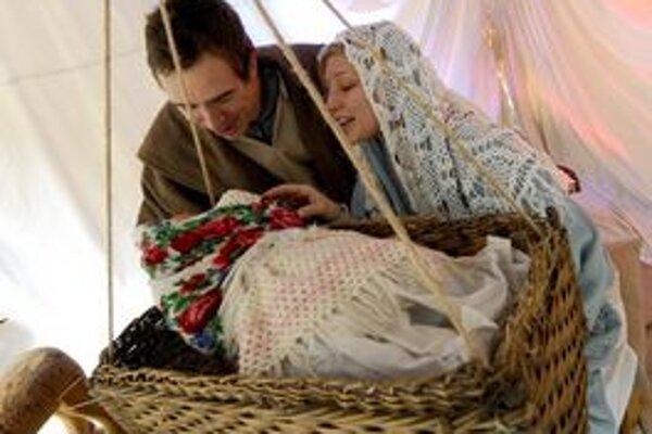 Živý Betlehem je jednou z atrakcií Vianoc.