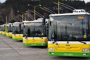 Trolejbusy Škoda/SOR majú Žilina, Banská Bystrica aj Prešov.