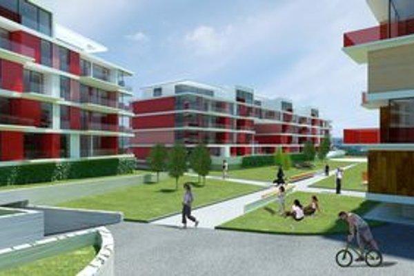 Plánujú bytovky i vyššie domy.