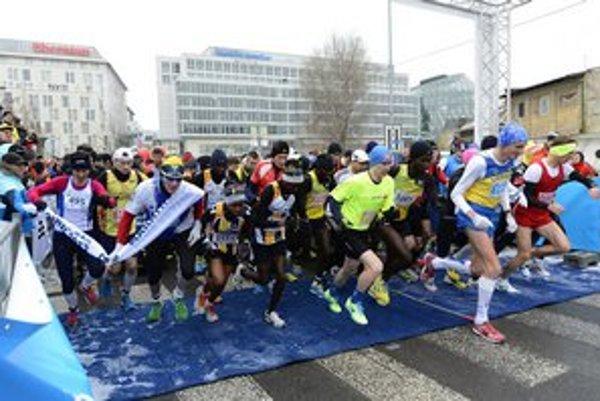 Štart ČSOB Maratónu.