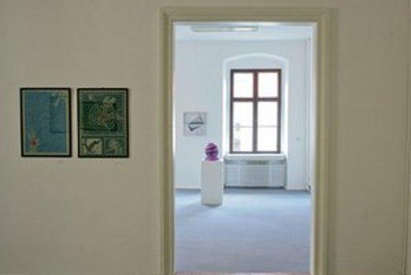 Galéria C. Majerníka sídli v Zichyho paláci.