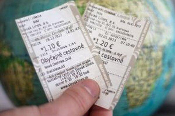 Kedy bude možné cestovať na jeden lístok, zatiaľ nie je známe.
