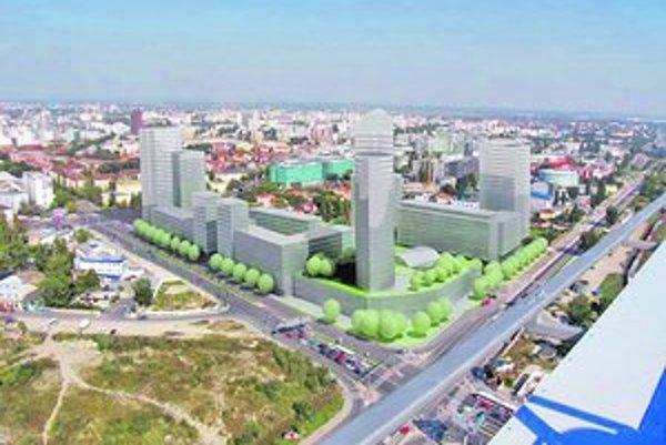 Na mieste Gumonky majú vyrásť mrakodrapy.