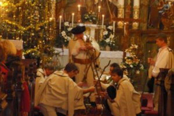 V prenčovskom kostole počas sviatočného koncertu.