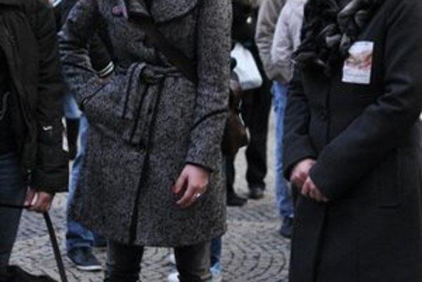 Herečka sa spolu so starostkou Tatianou Rosovou zúčastnila aj psieho pochodu.