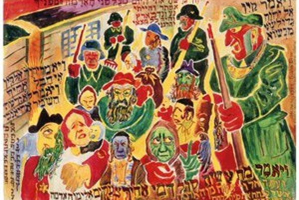 Adolf Frankl: cyklus Vízie z inferna – umením proti zabúdaniu