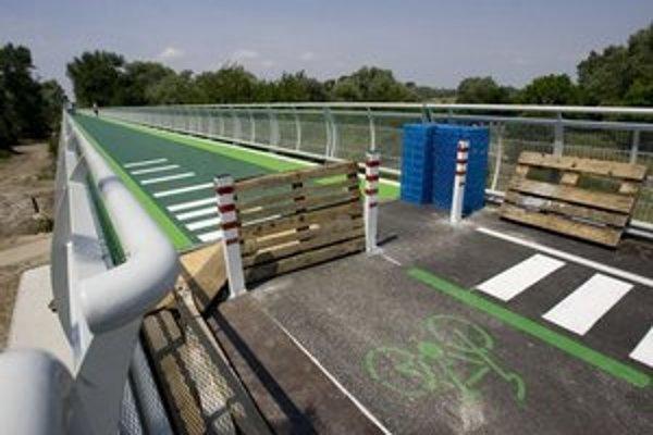 Oficiálne otvorenie cyklomosta spolu s rakúskou stranou je naplánované na 22. septembra.