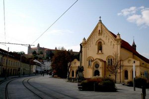 Kapucínsky kláštor.