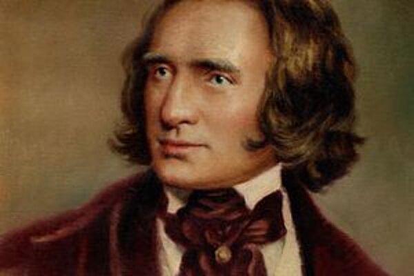 Skladateľ Franz Liszt (1811 - 1886)