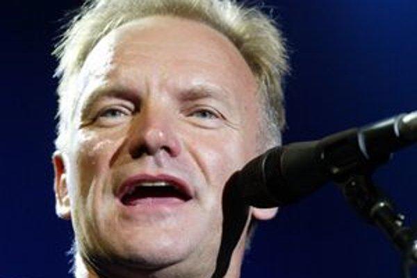 Sting na poslednom koncerte v Bratislave.