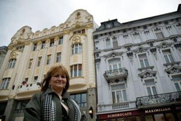 Ingrid Konrad, architektka žijúca vo Viedni je hlavnou architektkou Bratislavy.