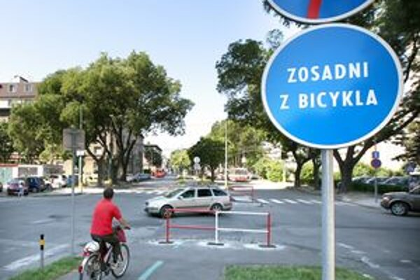 V Bratislave je len zopár cyklotrás