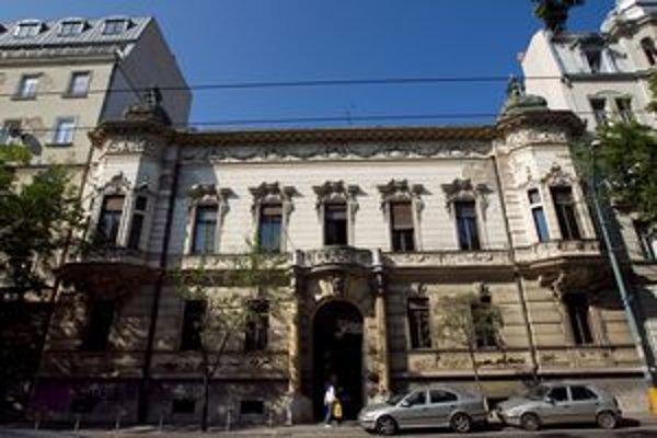 Pisztoryho palác na Štefánikovej.