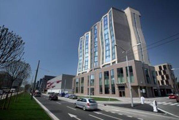 Štvorhviezdičkový hotel DoubleTree by Hilton.