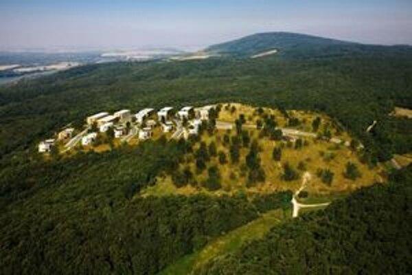 Vizualizácia projektu, ktorý  mal vyrásť na Kráľovej hore.